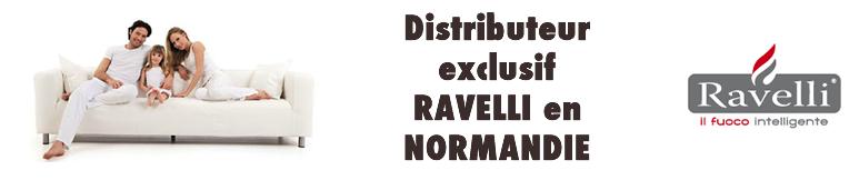 Distributeur Exclusif des Poêles Ravelli en Normandie